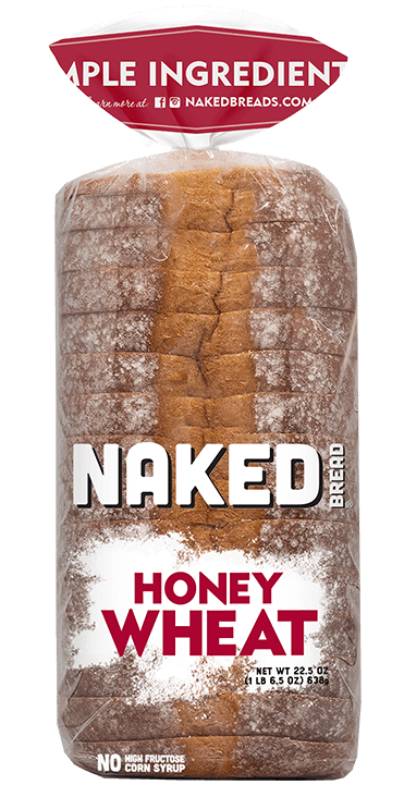 Naked Bread is delicious